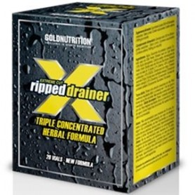 Diurético Gold Nutrition Xtreme Cut Ripped Drainer 20 viales