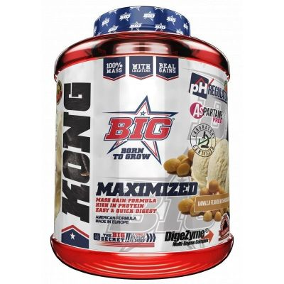 Carbohidratos BIG Kong Gainer 3 kg
