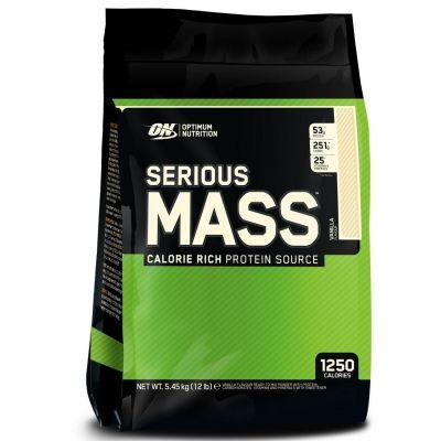 Ganador de Masa Optimun Nutrition Serious Mass 5,45 kg