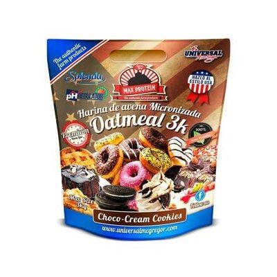 Max Protein Harina de avena Oatmeal 3 kg