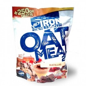 Iron Supplements Oatmeal - Harina de Avena 2 kg + 250 gr