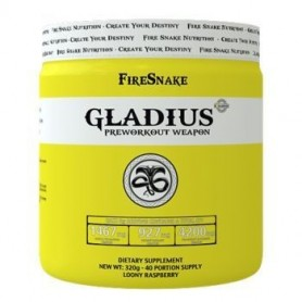Fire Snake Pre Workout - Pre Entreno Gladius 320 gr