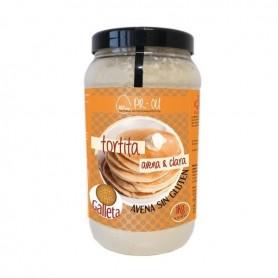 PR-OU Tortitas proteicas de Clara de Huevo y Avena 1 kg