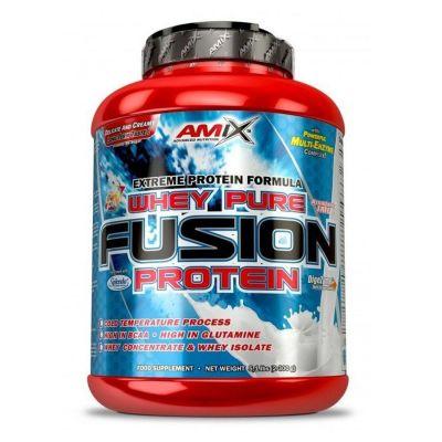 Proteina Concentrado y Aislado Amix Whey Pure Fusion 2,3 kg