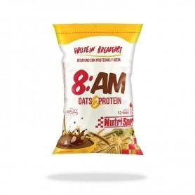 NutriSport Proteína de suero y avena 8AM Oats  Protein 650