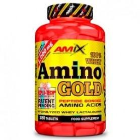 Aminoacidos Esenciales Amix Pro Whey Amino Gold 180 tabs