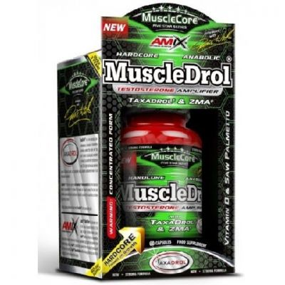Anabolicos Naturales Amix MuscleCore MuscleDrol 60 caps