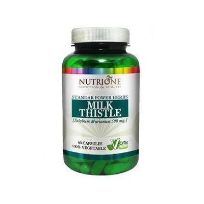 Nutrione Milk Thistle 60 caps