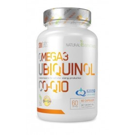 Starlabs Natural Essentials Omega 3 Ubiquinol CO-Q10 60 Caps