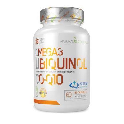 Starlabs Natural Essentials Omega 3 Ubiquinol CO-Q10 60 Caps