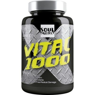 Vitaminas Soul Project Vita C 1000 100 Caps