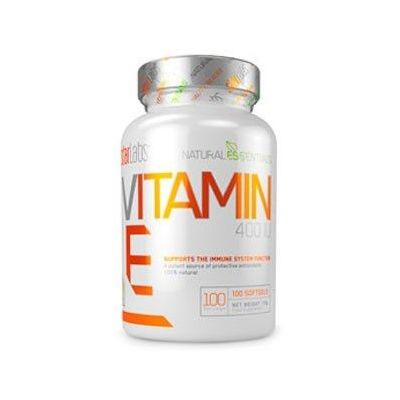 Vitaminas y minerales StarLabs Natural Essentials Vitamin E 100 Softgels