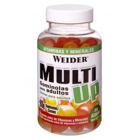 Weider Multivit UP Gummies - Multivitaminico 80 Gominolas
