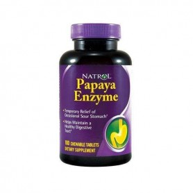 Natrol Papaya Enzyme 100 caps