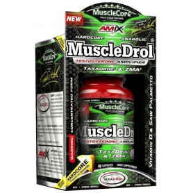 Anabolicos Naturales Amix MuscleCore MuscleDrol 30 caps
