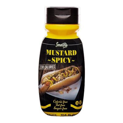 Servivita Salsa Zero Mustard Spicy 320 ml