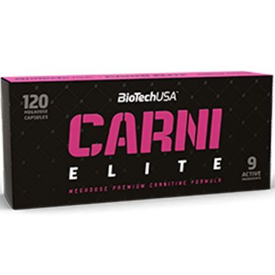 BioTechUSA Carni Elite 120 caps