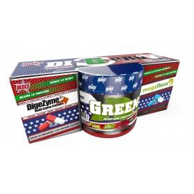 Vitaminas y Minerales BIG Pack DI G PRO Greens 150 gr + Probiotico 60 caps + Digez