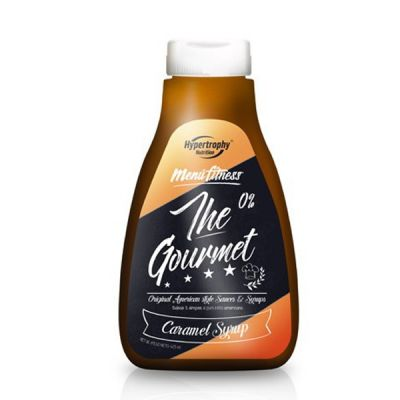 Hypertrophy Nutrition The Gourmet Sirope Caramelo 425 ml