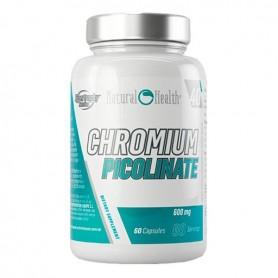 Hypertrophy Natural Health - Picolinato de Cromo 60 caps