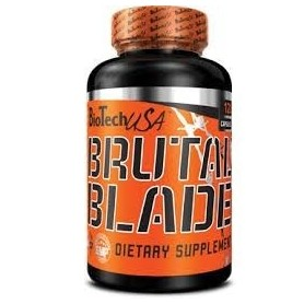 Quemador de grasa BioTechUSA Brutal Blade 120 caps