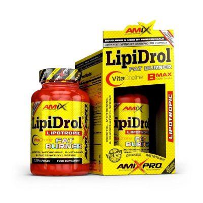 Quemadores de Grasas Amix Pro LipiDrol Fat Burner 120 caps