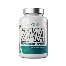Anabolicos naturales Hypertrophy Natural Health ZMA 90 caps