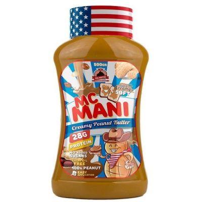 Max Protein Mc Mani Peanut Butter - Soft 500 gr