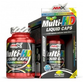 Vitaminas y Minerales Amix Multi-HD Liquid Caps 60 caps