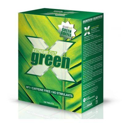 Quemador de grasa Gold Nutrition Extreme Cut Green 100 Tabs