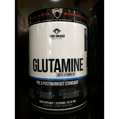 Fire Snake Glutamine + Vitamina B6 600 gr