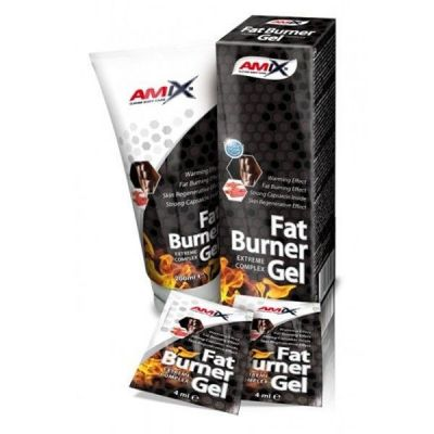 Crema Reductora Amix Fat Burner Gel 200 ml
