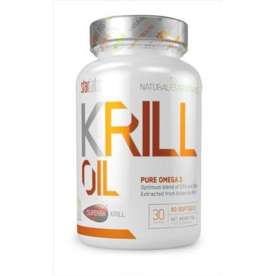 Ácidos grasos Starlabs Krill Oil Superba 60 Softgels
