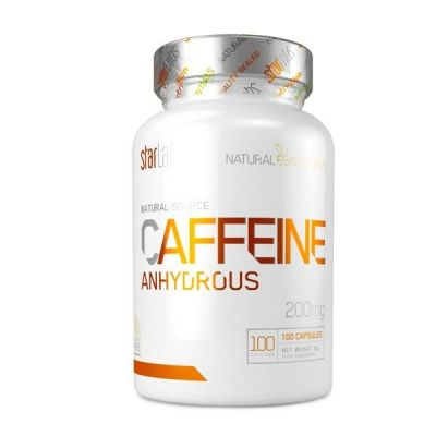 StarLabs Natural CAFFEINE ANHYDROUS 100 caps
