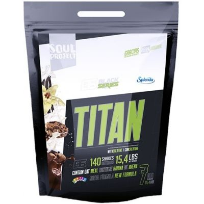 Ganador de Masa Soul Project Titan Weight Gainer 7 kg