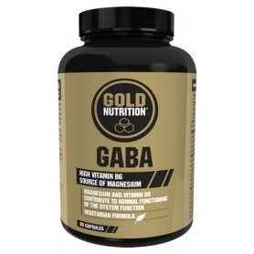 Gold Nutrition Gaba 500 mg 30 caps