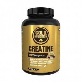 Creatina Monohidrato Gold Nutrition Creatine Creapure 60 tabs