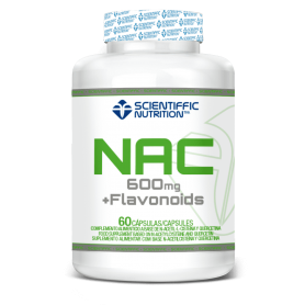 Scientiffic Nutrition Nac+Flavonoids 600mg 60 caps