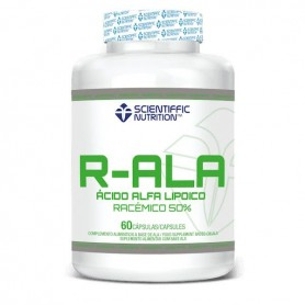 Scientiffic Nutrition R-ALA 50% Racemic 60 caps