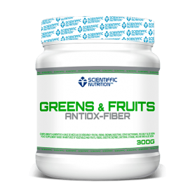 Scientiffic Nutrition Green & Fruits 300 gr