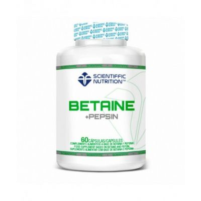 Scientiffic Nutrition Betaine+ Pepsin 60 caps