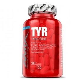 Aminoácidos Amix Tyrosine 500 mg 120 caps