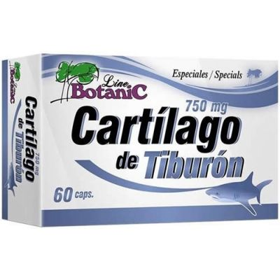 VitOBest Cartílago de Tiburón 750 mg 60 caps