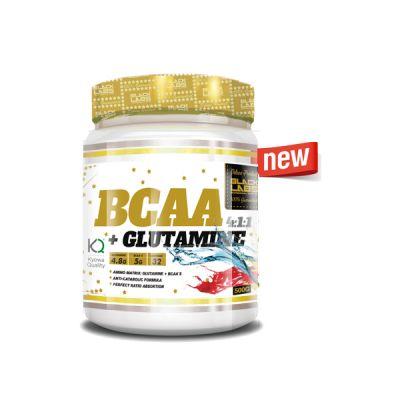 Aminoácidos Ramificados Black Labs Bcaa+Glutamina 4:1:1 500gr