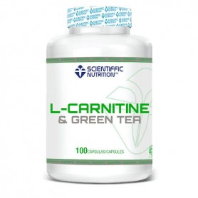 Scientiffic Nutrition L-Carnitine & Green Tea 100 caps