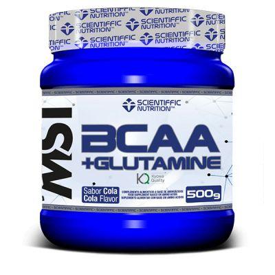 Scientiffic Nutrition BCAA + Glutamine 500 gr