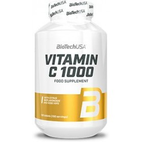 Vitaminas BioTechUSA Vitamin C 1000 100 tabs