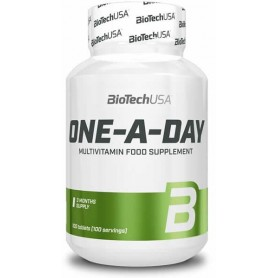 Vitaminas y minerales BioTechUSA One-A-Day 100 tabs