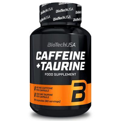 BioTech USA Caffeine + Taurine - Cafeina + Taurina 60 caps