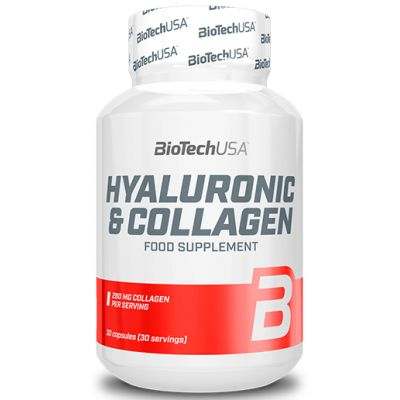 BioTech USA Hyaluronic Collagen 30 caps